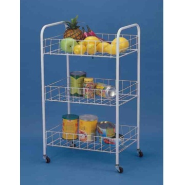 Multifunctional 3-tier Storage Cart