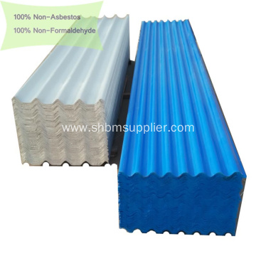100% Non-asbestos Anti-Aging MGO Roof Panels