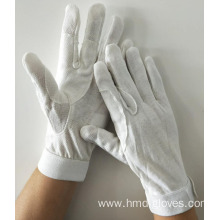 Cheap White Double Knitted Cotton Gloves