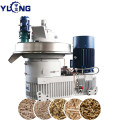 YULONG XGJ560 pellet machine to press poplar pellets