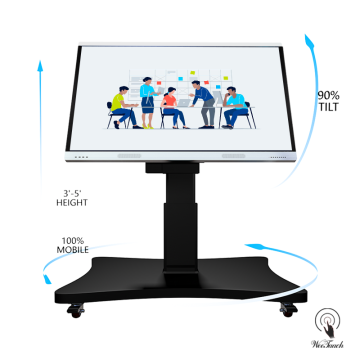 65 Inches Touch Meeting Panel With Automatic Stand