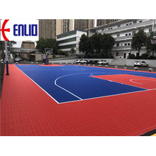 Modular Basketball Interlocking Court Tiles