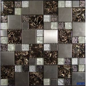 Artistic Cover Foil Glass Mosaic Tile