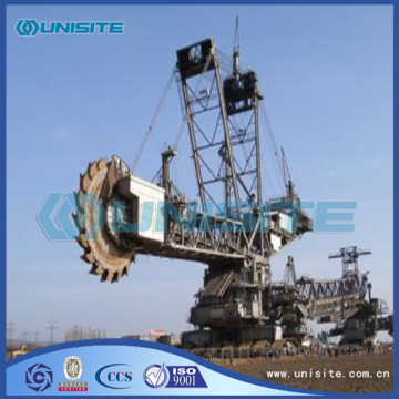 Steel bucket marine wheel