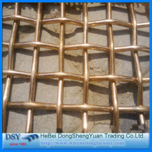 Brass Crimped Wire Mesh with High Quality