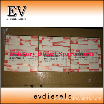 ISUZU engine parts piston 3KR2 piston ring