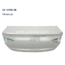 Wholesale Distributors for HYUNDAI Pilot Tailgate Panel Removal Steel Body Autoparts HYUNDAI 2017 ACCENT TRUNK LID export to Yemen Factory