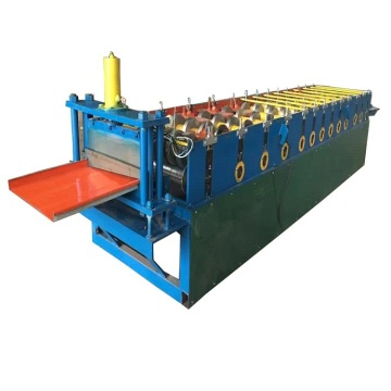 Colored Steel Wall Siding Panel Roll Forming Machine