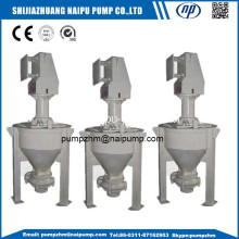 Mineral processing vertical froth slurry pump