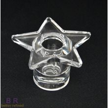 Glass Star Based Tealight