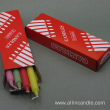 100% Original for Multi-colored Candle Party Favors Gifts Colorful Stick Candle supply to French Polynesia Importers