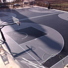 OEM/ODM Manufacturer for Outdoor Kids Playground Equipment outdoor pp sport basketball court interlocking tile export to Peru Supplier