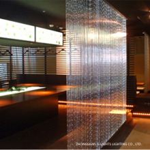 Restaurant Decorative RGB Fiber Optic Curtain Light