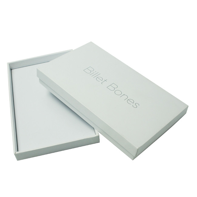 Custom Luxury White Gift Packaging Paper Box