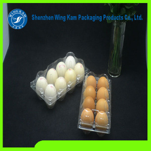 Hot Sale Customized Plastic Egg Tray Wholesale