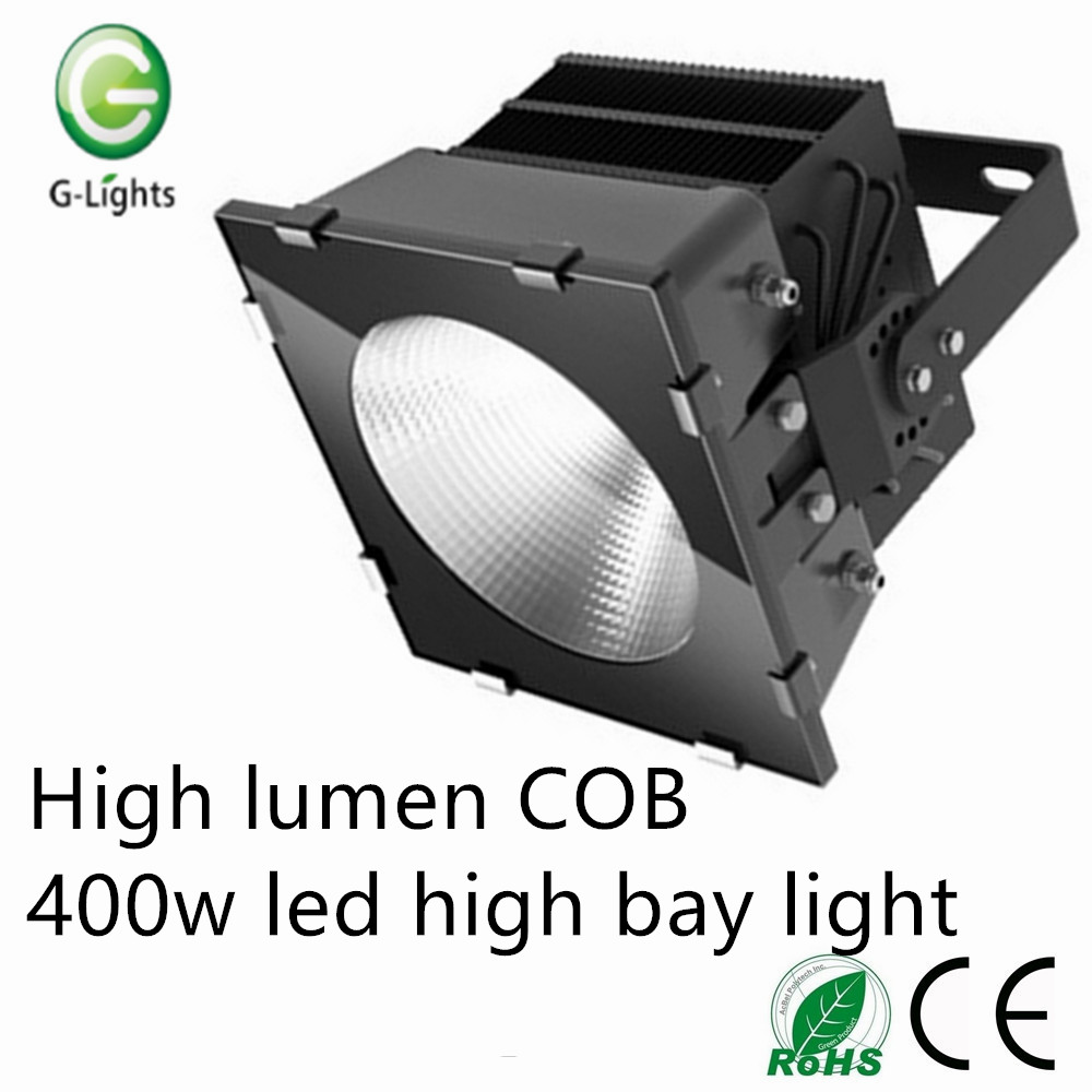 High lumen COB 400w led high bay light