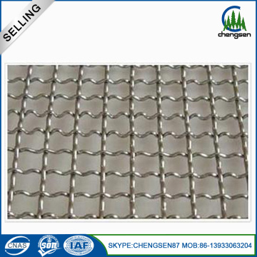 mytext Galvanized Square Crimped Wire Mesh