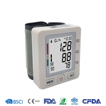 Best Selling Portable Wrist Type Blood Pressure Monitor