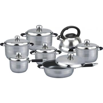 High quality 13pcs cookware set Russia