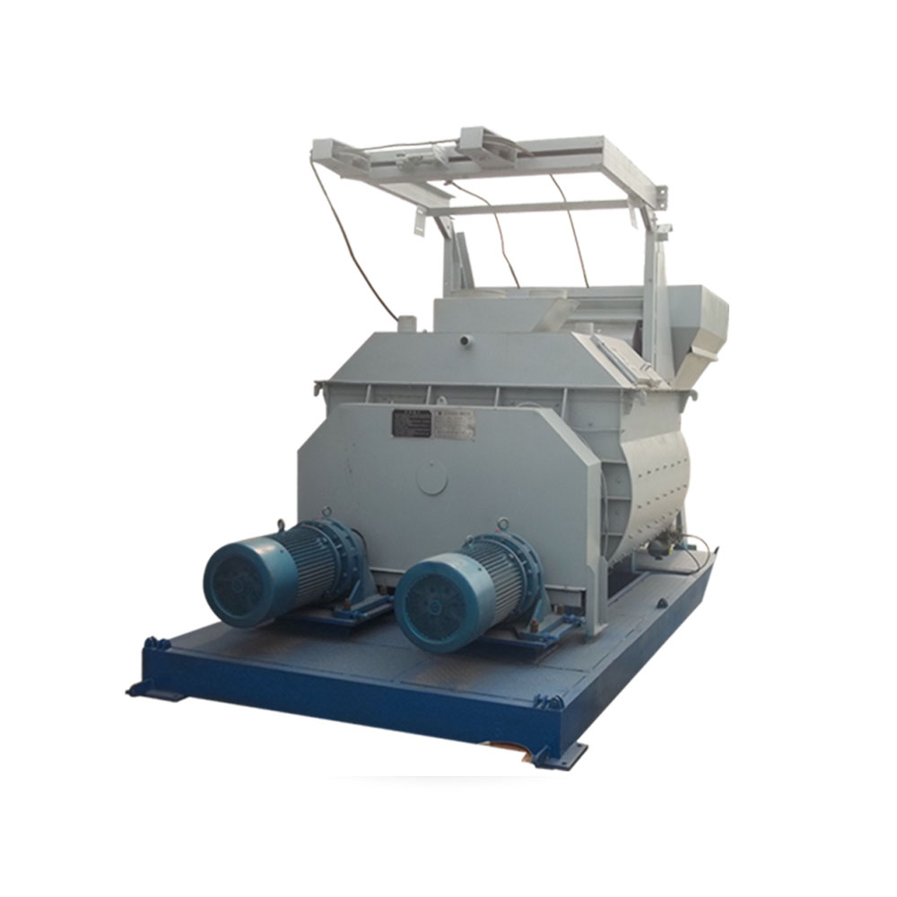 high productivity concrete mixer with elevator
