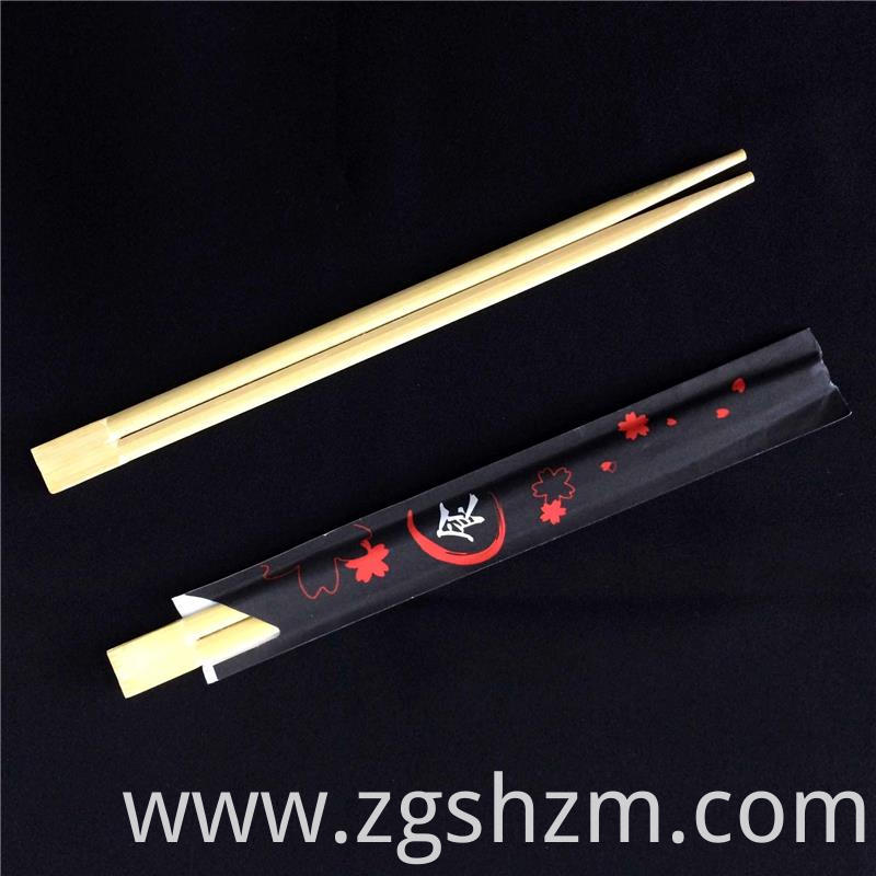 Bamboo Chopsticks Packed In Paper Bags