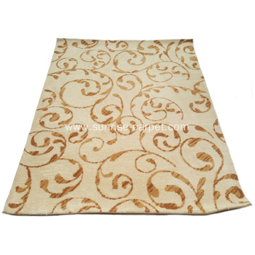 Microfiber Tufted Carpet with Novel Design