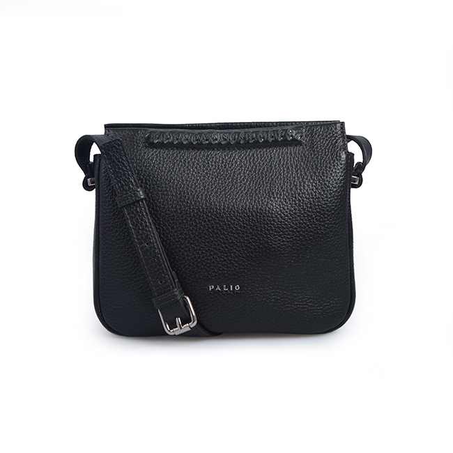 Travel Mini lady Girls shiny black women bag Zipper leather crossbody Shoulder Bag