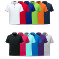 Short Sleeve Men Polo-Shirt Custom Desing Logo Print