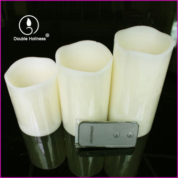 led pillar candle with remote control