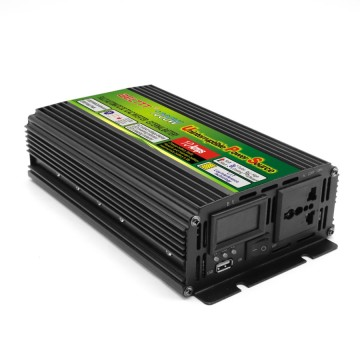 Black-Appearance practical portable UPS inverter 1000 Watt