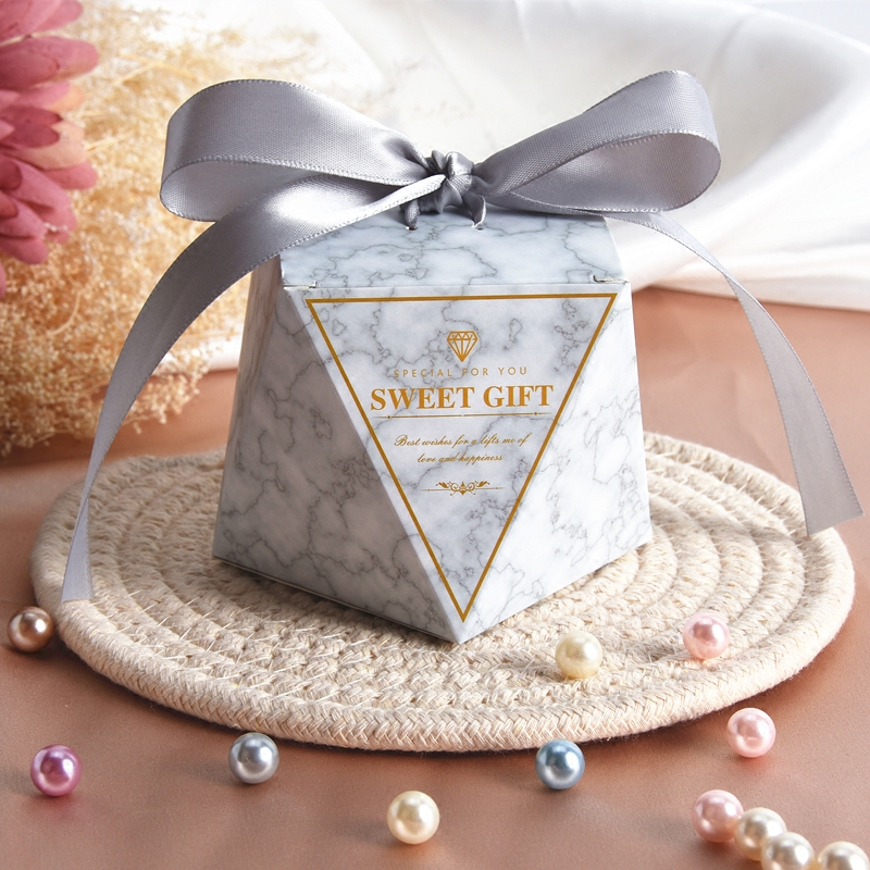 Delicacy Diamond Shape Cardboard Candy Packing Box