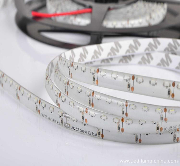 Side emitting light LED flexible strip 335