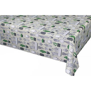 Pvc Printed fitted table covers Linens Paris France