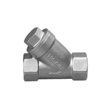 stainless steel valve Y type strainer valves