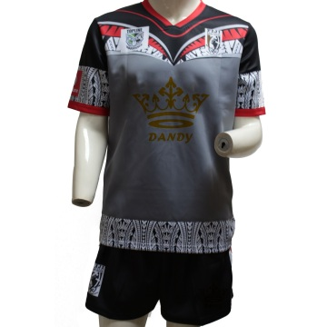 Oanpaste Sublimated Fitness Heren Rugby Top