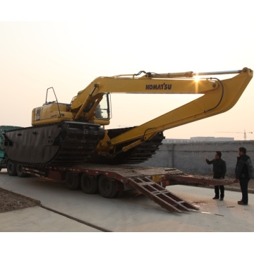 High Performance and High Efficiency Amphibious Excavator
