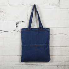 Custom art denim bag retro multi-purpose cloth bag