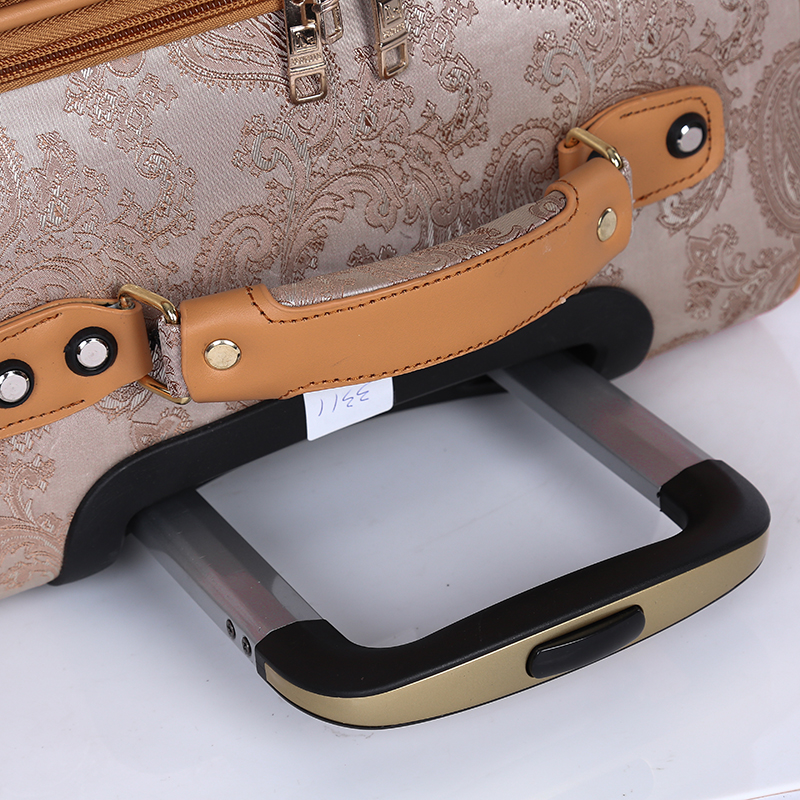 Online PU leather handle travel luggage4