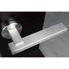 Best Quality for Luxury Solid Lever Handle Stainless Steel Rectangular Solid Door Lever Handle export to Armenia Manufacturer