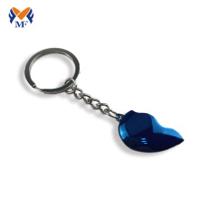 Good Quality for Die Cast Keychain Metal half heart keychain for couples export to China Hong Kong Suppliers