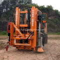 Engine Cooling Equipped Guardrail Pile Driver