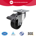 Light 2.5 Inch 70Kg Plate Brake PO Caster