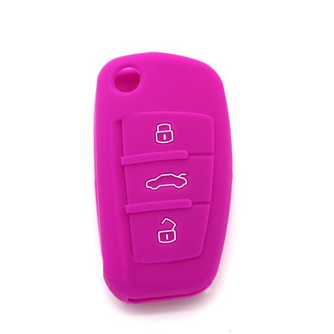 Silicon Audi Car Key Case Logo