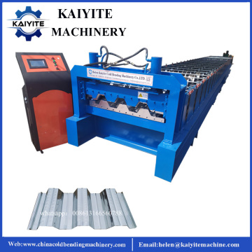 Steel Roof Deck Roll Forming Machine