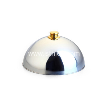 Dome Stainless Steel Dish Cover