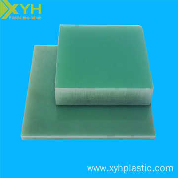 Black/Yellow/Green Insulating FR4 Epoxy Material Plate