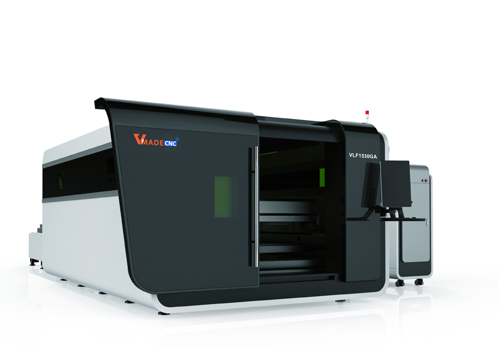 fiber laser cutting with cover