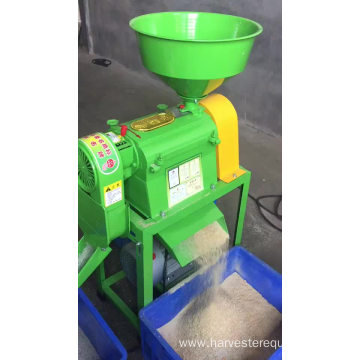Home use combine rice milling equipment
