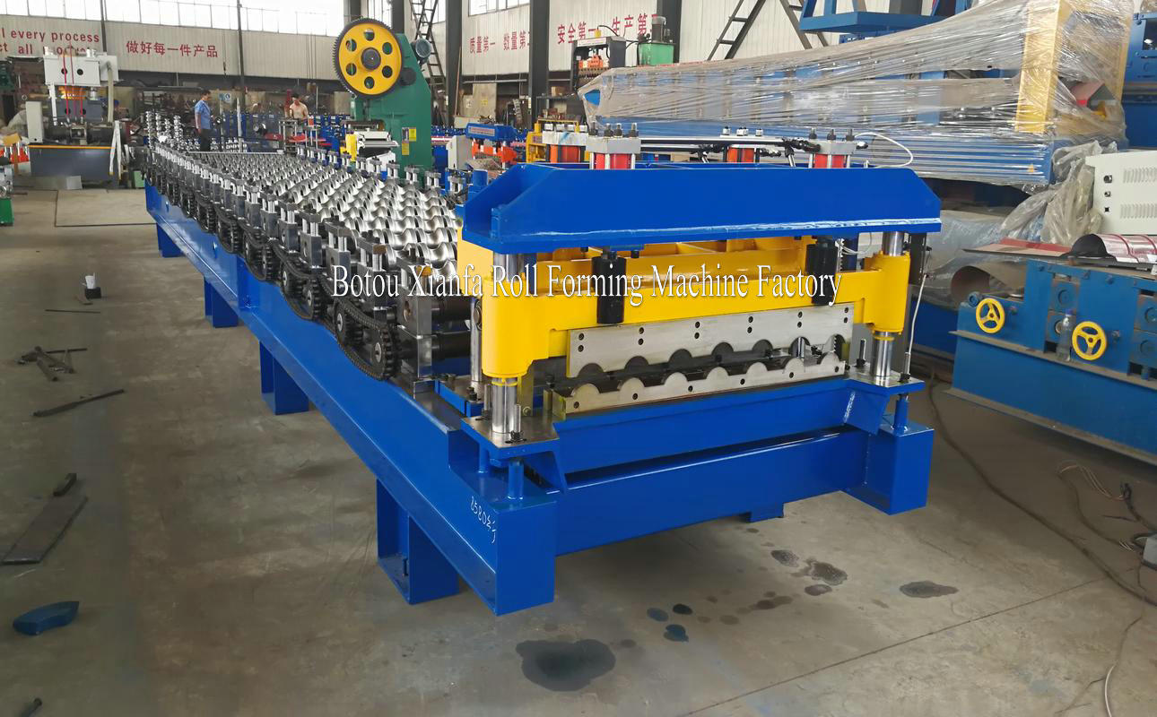 glazed roll forming machines