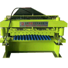 Fully automatic corrugated ibr double forming machinery